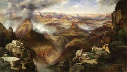 Grand Canyon of the Colorado River, c.1892/08 by Thomas Moran | Painting Reproduction