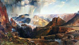 The Chasm of the Colorado | Thomas Moran | Gemälde Reproduktion