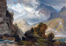 The White Mountains | Thomas Moran | Painting Reproduction