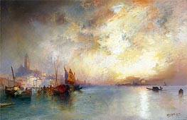 View of Venice, 1897 by Thomas Moran | Painting Reproduction