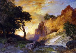 A Side Canyon, Grand Canyon, Arizona | Thomas Moran | Painting Reproduction