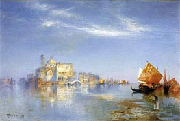 View of Venice | Thomas Moran | Gemälde Reproduktion