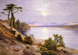 Head of the Yellowstone River | Thomas Moran | Painting Reproduction