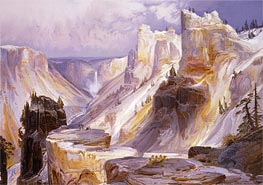 The Grand Canon, Yellowstone | Thomas Moran | Gemälde Reproduktion