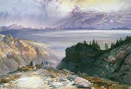 The Great Salt Lake of Utah | Thomas Moran | Gemälde Reproduktion