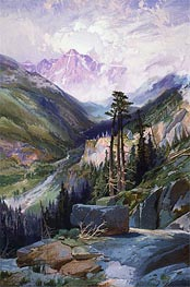 The Mountain of the Holy Cross, Colorado | Thomas Moran | Gemälde Reproduktion