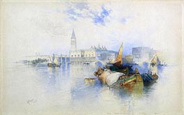 Basin of San Marco | Thomas Moran | Gemälde Reproduktion
