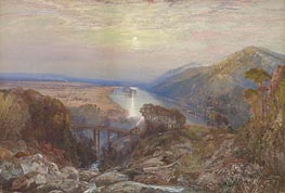 View of the Susquehanna | Thomas Moran | Gemälde Reproduktion