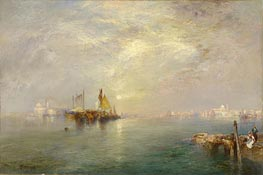 Morning, Outskirts of Venice | Thomas Moran | Painting Reproduction