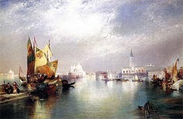 The Splendor of Venice | Thomas Moran | Gemälde Reproduktion