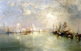 Venice: Reminiscence of Vera Cruz, Mexico, 1886 by Thomas Moran | Painting Reproduction