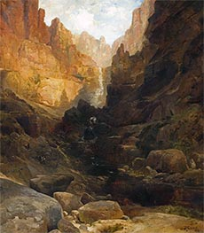 Side Canyon of the Colorado | Thomas Moran | Painting Reproduction