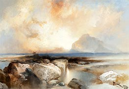 Seascape, 1924 by Thomas Moran | Painting Reproduction