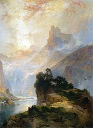 The Glory of the Canyon, 1875 by Thomas Moran | Painting Reproduction