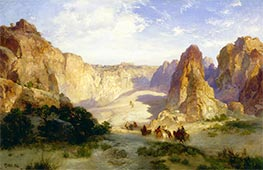 The Rocks of Acoma, 1904 by Thomas Moran | Painting Reproduction