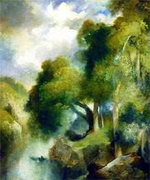 California Landscape, 1924 by Thomas Moran | Painting Reproduction