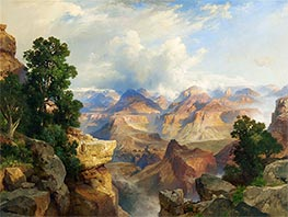 Der Grand Canyon, 1913 von Thomas Moran | Gemälde-Reproduktion