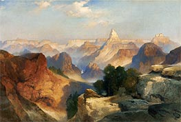 Grand Canyon, 1920 von Thomas Moran | Gemälde-Reproduktion