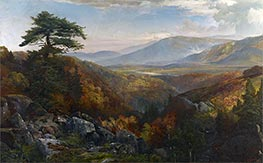 Valley of the Catawissa in Autumn, c.1862 by Thomas Moran | Painting Reproduction