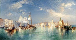 Venice, 1898 by Thomas Moran | Painting Reproduction