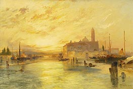 Venice, 1890 by Thomas Moran | Painting Reproduction
