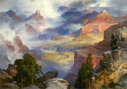 Grand Canyon in Mist | Thomas Moran | Painting Reproduction
