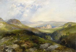 Conway Castle | Thomas Moran | Painting Reproduction