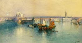 Venice from the Tower of San Giorgio, 1900 by Thomas Moran | Painting Reproduction