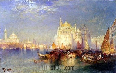 Venice, 1894 | Thomas Moran | Painting Reproduction