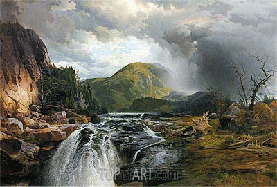 The Wilds of Lake Superior, 1864 | Thomas Moran | Gemälde Reproduktion