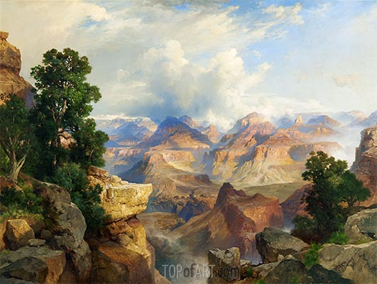Der Grand Canyon, 1913 | Thomas Moran | Gemälde Reproduktion