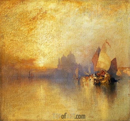 Opalescent Venice, undated | Thomas Moran | Painting Reproduction