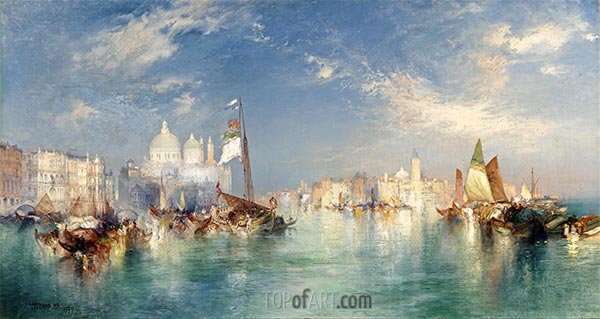 Venice, 1898 | Thomas Moran | Painting Reproduction