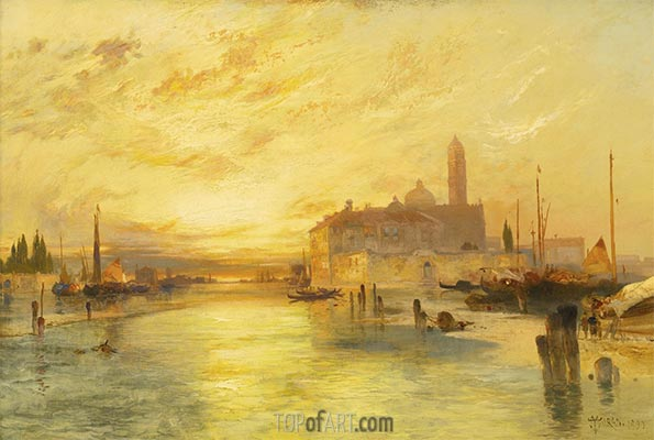 Venice, 1890 | Thomas Moran | Painting Reproduction