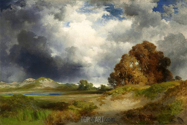 East Hampton, 1916 | Thomas Moran | Painting Reproduction
