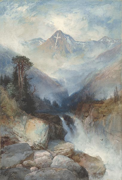Mountain of the Holy Cross, 1890 | Thomas Moran | Painting Reproduction