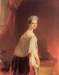 Queen Victoria, 1838 von Thomas Sully | Gemälde-Reproduktion