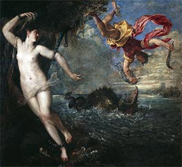 Perseus and Andromeda, c.1554/56 by Titian | Painting Reproduction