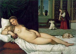 The Venus of Urbino | Titian | Painting Reproduction