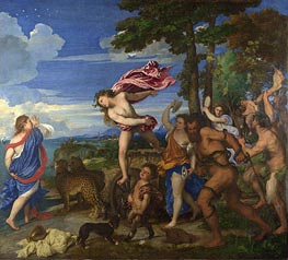 Bacchus and Ariadne | Titian | Painting Reproduction