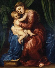 Madonna and Child | Titian | Painting Reproduction