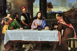 The Supper at Emmaus | Titian | Painting Reproduction