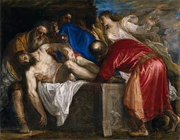 The Burial of Christ | Titian | Painting Reproduction