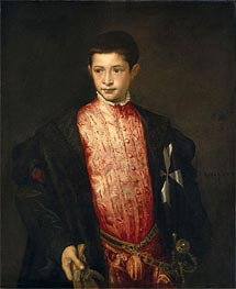 Ranuccio Farnese | Titian | Painting Reproduction