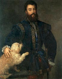 Federico Gonzaga, I Duke of Mantua, 1529 by Titian | Painting Reproduction