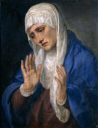 Mater Dolorosa, 1555 by Titian | Painting Reproduction