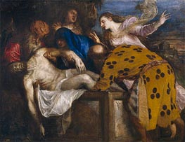 The Burial of Christ, 1572 von Titian | Gemälde-Reproduktion