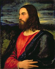 Christ the Redeemer, c.1532/34 von Titian | Gemälde-Reproduktion