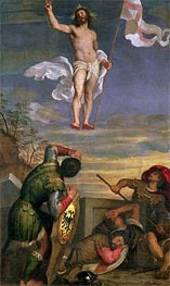 The Resurrection of Christ, undated by Titian | Painting Reproduction
