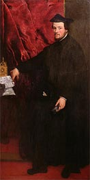 Portrait of Cristoforo Madruzzo, Cardinal and Bishop of Trent | Titian | Painting Reproduction